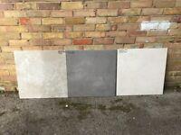 3 x big indoor tiles - 59.5 x 59.5 x 1 cm