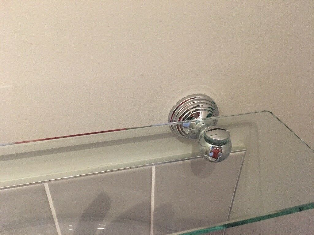 Miller Polished Chrome Bathroom Accessories, Mirror, Toilet Roll ...