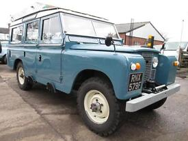 Land Rover Series II 109 2.6 Station Wagon (blue) 1968