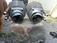 BMW R80 mono barrels and pistons