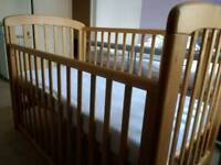 John Lewis Anna Cot with drop side