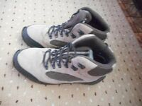 Pair of unisex hiking boots from Kathmandu