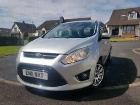 Ford Grand C Max 2011 59k MoT-Nov18 1.6L 7 Seater