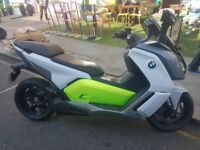 BMW C EVOLUTION MINT CONDITION ONLY 1300 MILES VERY VERY ECONOMICAL AND FAST!!