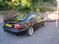 BMW 5 Series Manual E39 525i Sport