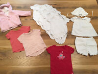 6 - 9 months Baby Girl Summer Clothes Bundle - 12 items (inc. John Lewis, Gap, Next)
