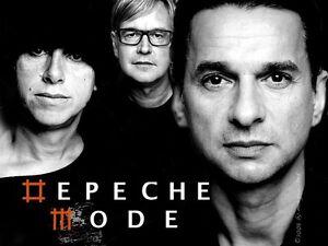DEPECHE MODE - PARTERRE / FLOOR $250