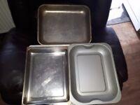 Large roasting tins