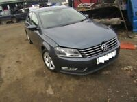 breaking vw passat b7 model