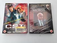CSI Season 3 Episodes 3.13-3.23 and Inspector Morse Series 4 - Both Sealed