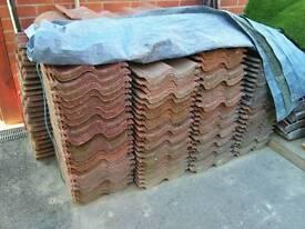 Reclaimed marley mendip roof tiles