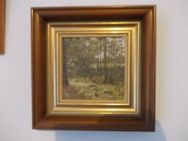 Peter Jay - oil painting - The Pinewood