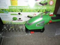 CORDLESS GRASS AND SHRUB TRIMMER