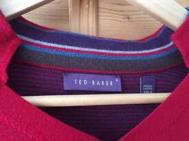 Men's Ted Baker red jumper L