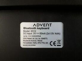 Advent bluetooth keyboard