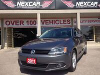 2011 Volkswagen Jetta 2.5L HIGHLINE 5 SPEED LEATHER SUNROOF 95K