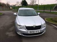 2008/58 PLATE SKODA SUPERB 2.0 TDI CR ELEGANCE 5DR *HUGE SPEC