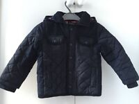 "Boys' Navy Hooded Jacket Age 1.5-2yrs ""Autograph"""