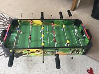 Stats table football