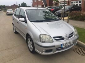 Nissan Almero Tino - 12 months MOT | Great Condition - Check Photos! Reverse Camera FSH Only 2 owner