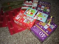 Christmas cards,wrapping paper plus tags