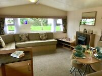 **BLUE X SALE ENDS 28 FEB** Static Caravan Holiday Home For Sale on Lizard Peninsula in Conrwall