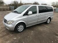 2005/54 Mercedes-Benz Vito 111 CDi LWB Traveliner Minibus,Dualiner,privacy glass,removable seats