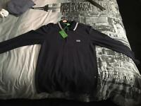 Hugo boss long sleeve polo BNWT