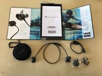 Headphones Boss wireless bluetooth earbuds unwanted item as new hardly used