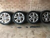 "Mercedes genuine 17"" alloys not bmw,Peugeot,seat,Ford,Honda,Nissan,Renault"