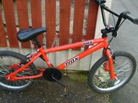 BOYS TRAX BMX BIKE 20 INCH WHEEL IN RED