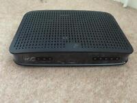Virgin media vbox, power lead & remote
