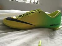Nike mercurial vapour green/yellow (brazil)