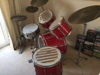 Pearl Export Drum Kit with Kit Bags