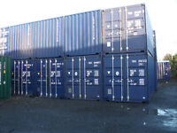 New and Used 10ft, 20ft, and 40ft Steel Storage Containers for Sale.