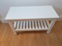 Hemnes Bench from Ikea.