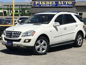 2010 Mercedes-Benz M-Class ML350 BLUE TEC 4MATIC*NAVI*PARK ASSIS