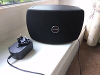 Used Jongo T2 speaker in black, WiFi and Blutooth connected, can be used as a multi-room system