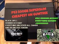 PS3 500GB *offers accepted*