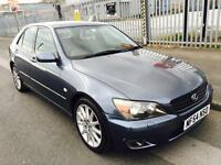 2005 Lexus IS 200 2.0 SE Saloon 4dr Petrol Automatic P/X Welcome 12 MONTHS MOT+SAT NAV+LEATHER