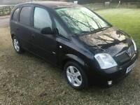 2005 Vauxhall meriva 1.6
