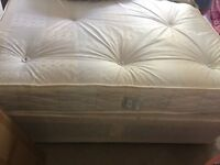 Double bed and divan base