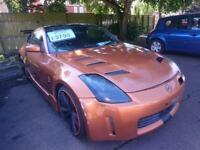NISSAN 350Z (orange) 2005