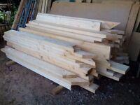Unused 6 x 2 timber