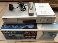 Sony video and DVD recorder