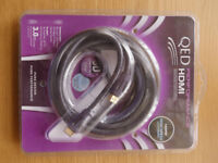 HDMI lead - 3m QED Performance Graphite