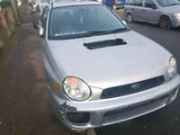 Subaru impreza gx sport spares or repairs
