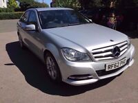 2012 MERCEDES C180 1.6 SE (EXECUTIVE PACK) 7G-TRONIC PLUS, 1 OWNER, FINANCE AVAILABLE