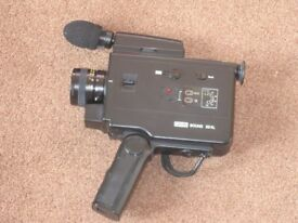 Eumig Sound 23 XL 8 mm Film Cine Camera in as new condition with case and instruction booklet
