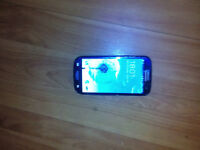 galaxy s3 with cracked outer glass